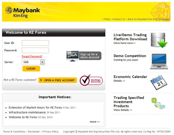 Maybank bank forex