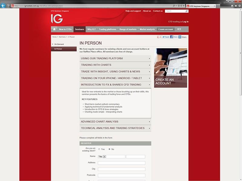 Ig forex singapore review
